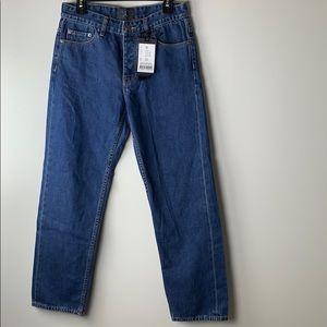 D.I.G 119 Mens 70s loose Selvedge blue jeans 30